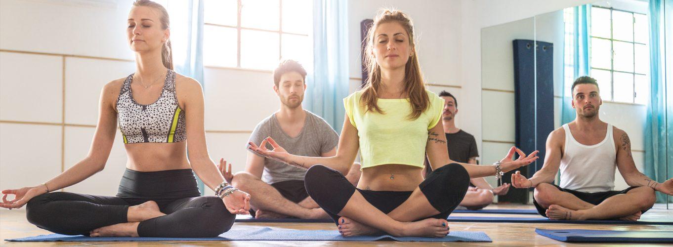 Yoga in sports